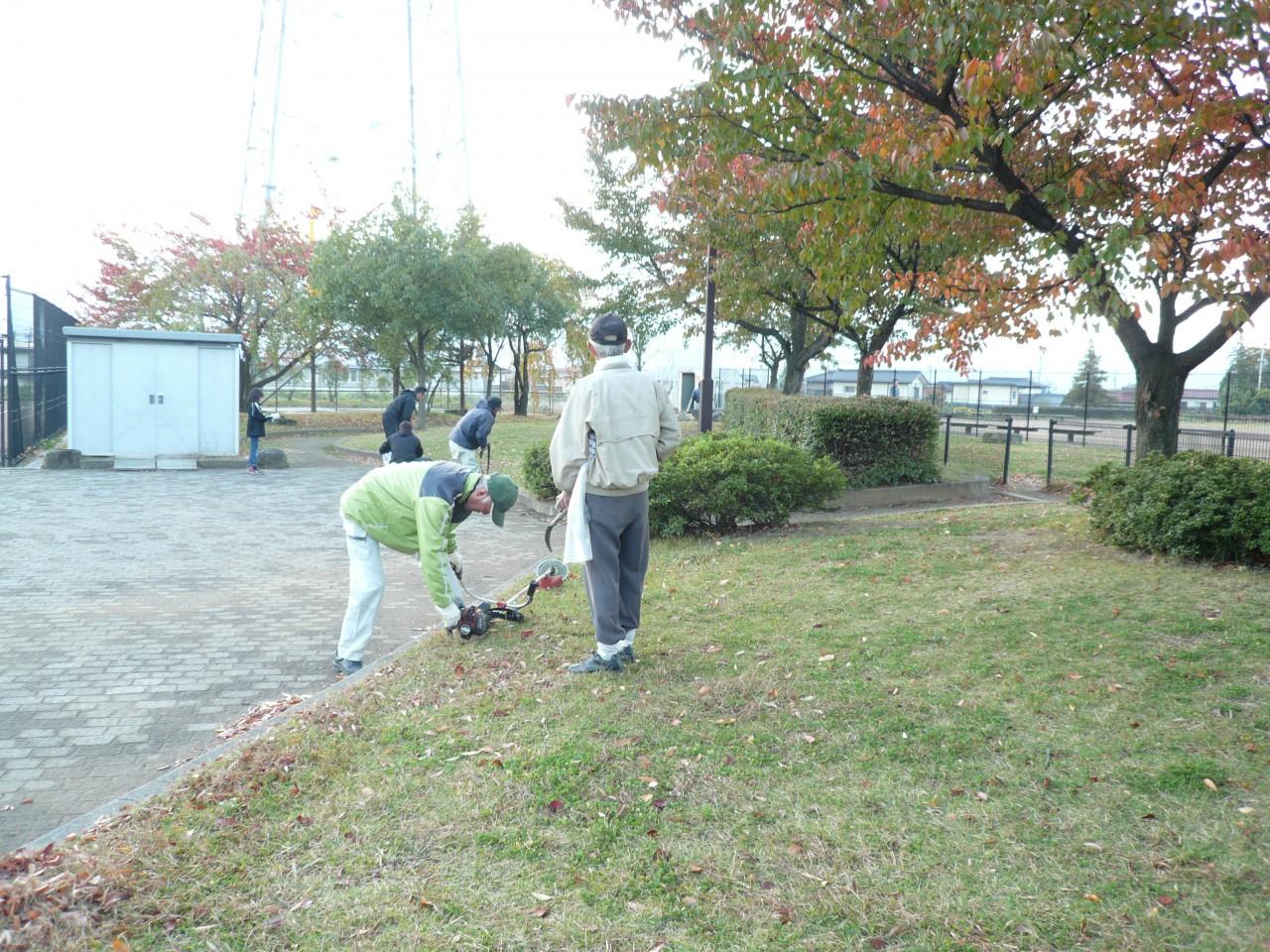公園清掃2